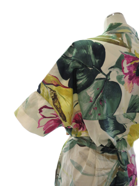 """<strong><font color=""""#ff0033"""">50%OFF!!</font></strong>Desigual デシグアル 花柄シャツワンピース 21SWVWA2"""