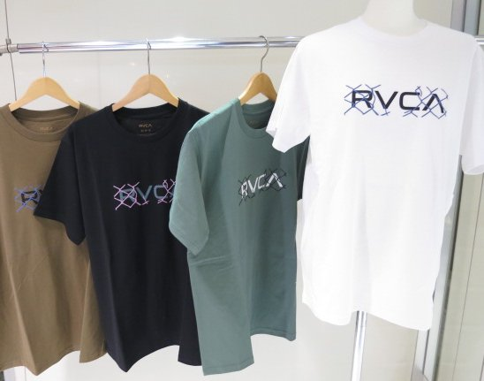"""<strong><font color=""""#ff0033"""">30%OFF!!</font></strong>RVCA メンズ LINX Tシャツ BB041203"""