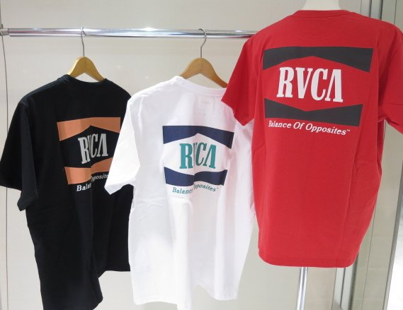 """<strong><font color=""""#ff0033"""">30%OFF!!</font></strong>RVCA メンズ OPEN RANGE Tシャツ BB041204"""