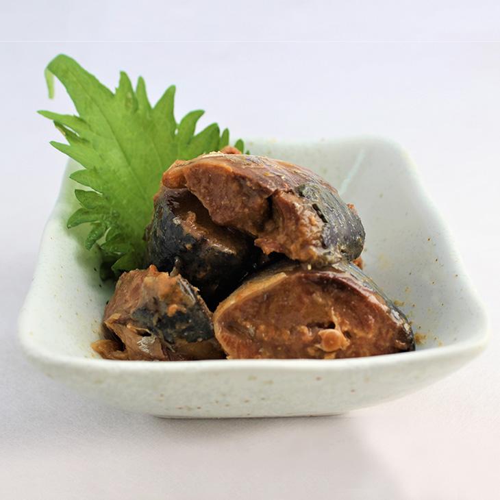 1658 国産 寒さば 木頭ゆず味噌煮 190g