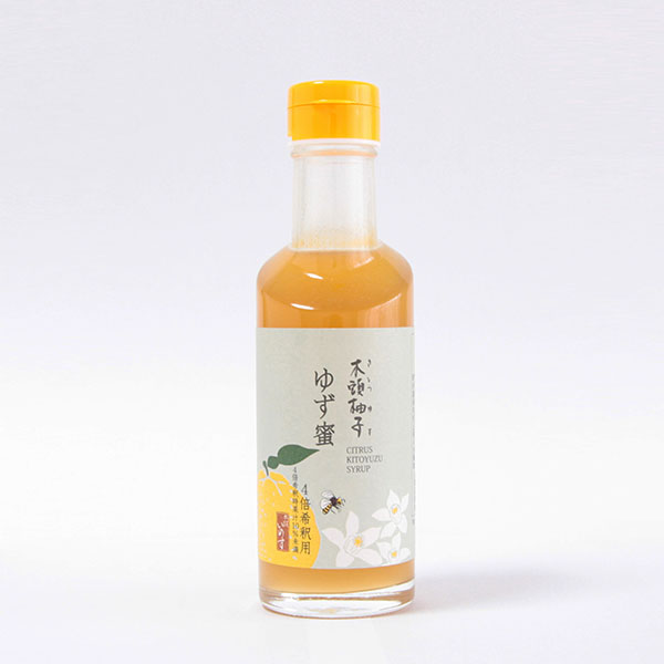 1500 木頭柚子 ゆず蜜 185ml