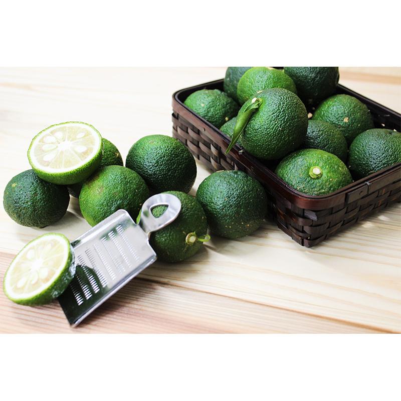 農薬・化学肥料不使用栽培の木頭柚子(青ゆず) 3kg(約36個)