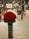 お祝いスタンド花「レッドローズ」