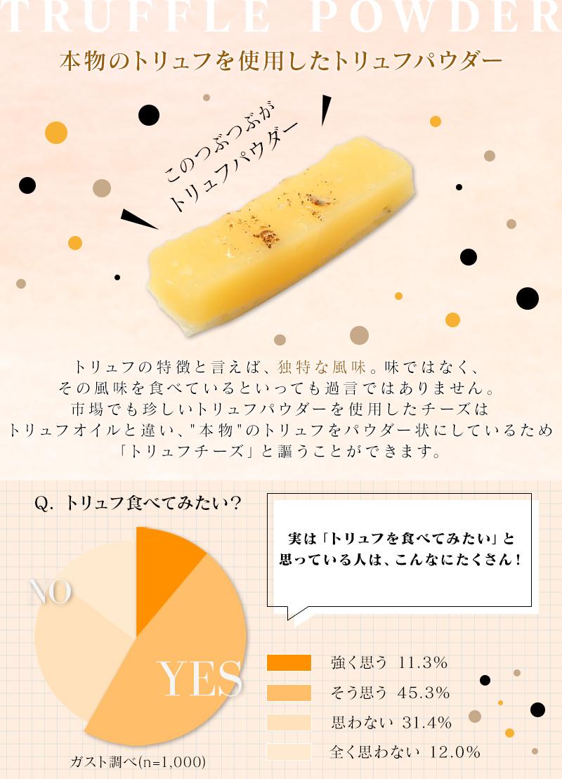 トリュフチーズ55g×3袋 【メール便・送料無料】