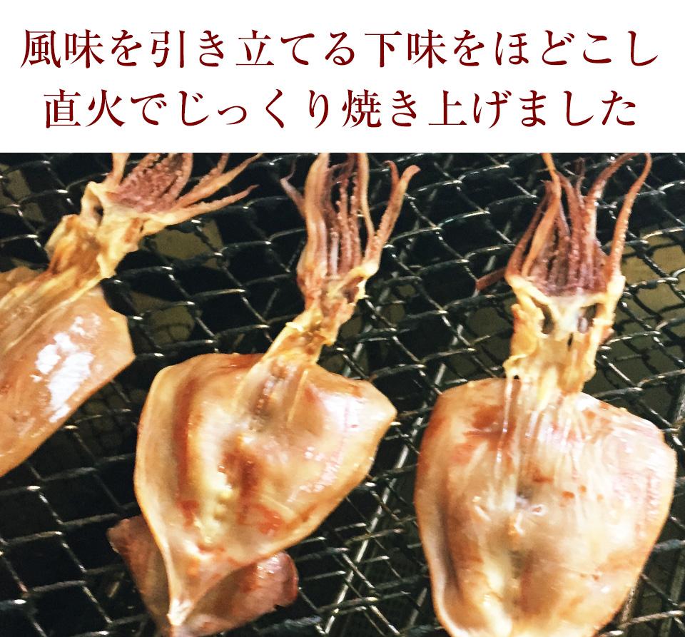 直火焼するめ120g 【メール便・送料無料】