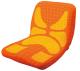 【ベストセラー】 pinto 姿勢サポートクッション オレンジ(Orange) エスリーム技術