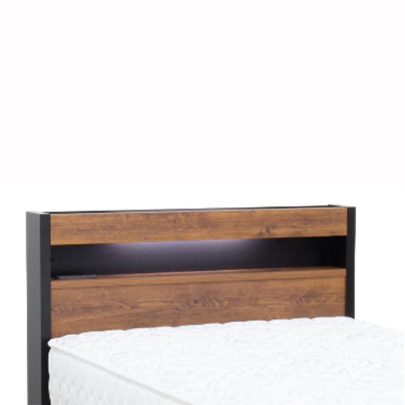 【東京ベッド】 電動セミダブルベッドセット モデー+5.5インチポケットコイルマットレス