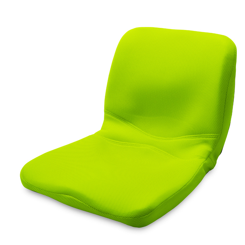【ベストセラー】 pinto 姿勢サポートクッション 黄緑(Yellowish Green) エスリーム技術