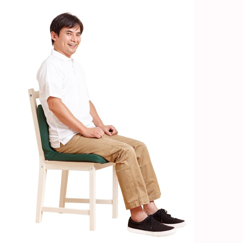【ベストセラー】 pinto 姿勢サポートクッション グレー(Gray) エスリーム技術