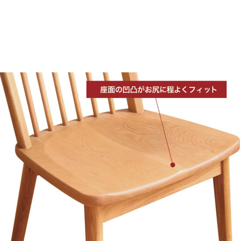 【浜本工芸】 4人掛けダイニングセット DT-3504 幅135cm ナチュラルオーク ナラ材 国産家具