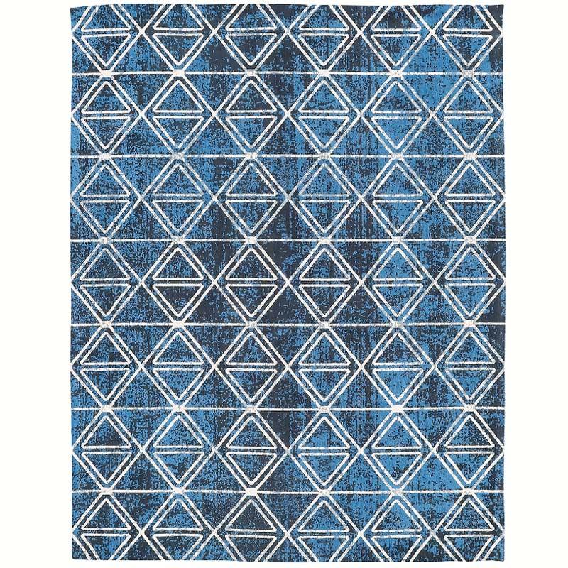【輸入カーペット】ゴブラン織り イギー インド製 綿100%