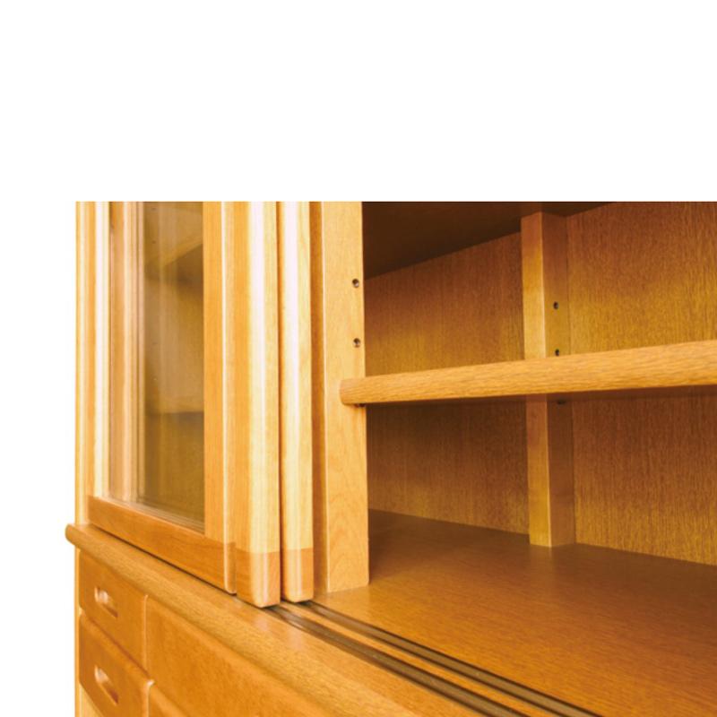 【浜本工芸】 ダイニングボード No1500(W105) ダークオーク ナラ材 国産家具