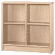 【小島工芸】 本棚 アコードLシリーズ(高さ87.3cm) 幅90cm 国産家具