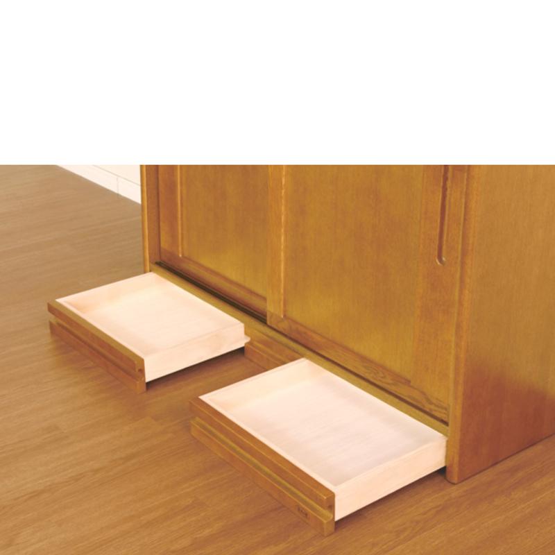【浜本工芸】 ダイニングボード No1500 幅105 ダークオーク ナラ材 国産家具