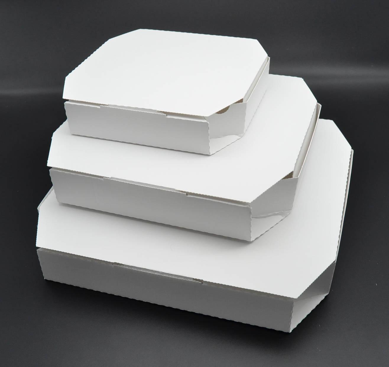 8インチピザボックス(白)200枚入