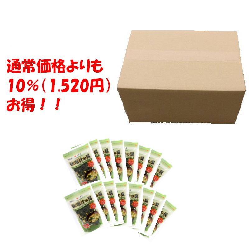 味噌汁の具 175g お買い得おまとめ品(16個)