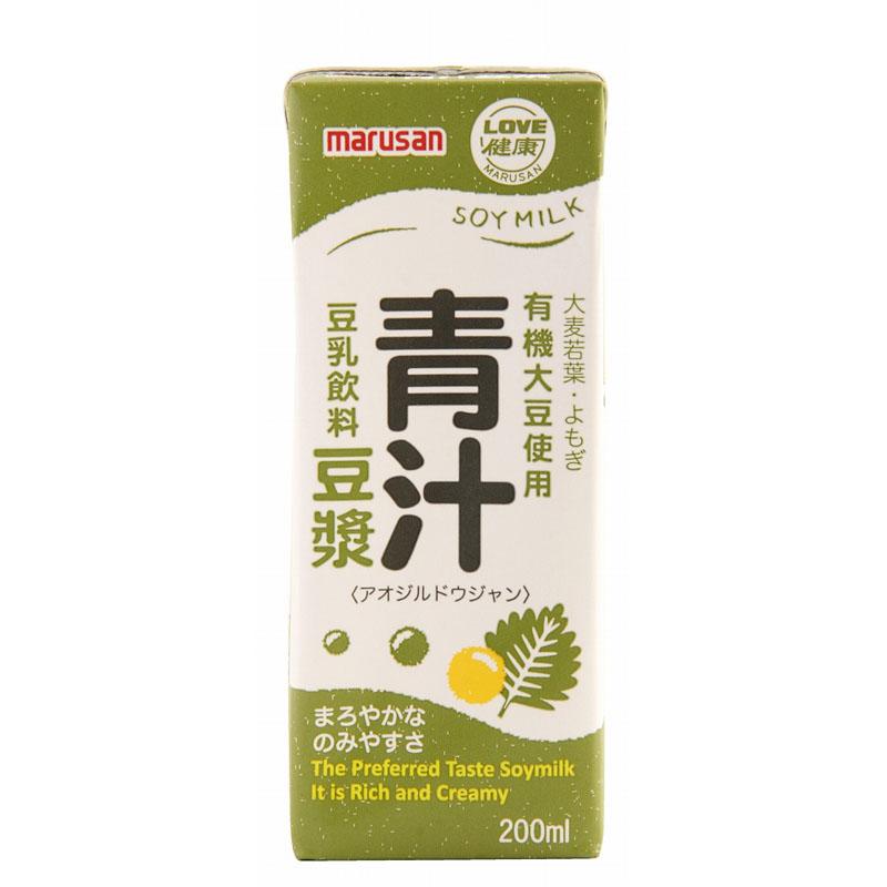マルサン 青汁豆漿 200ML×24本