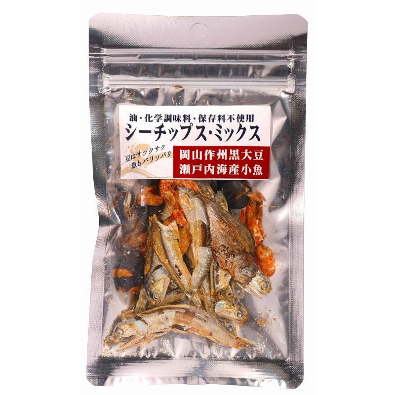 シーチップス・ミックス(豆&魚) / 内容量:15g