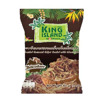 ココナッツチップス 4種各1袋 オリジナル、キャラメル、コーヒー、チョコレート