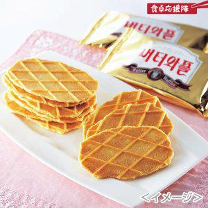 バターワッフル3枚x12袋
