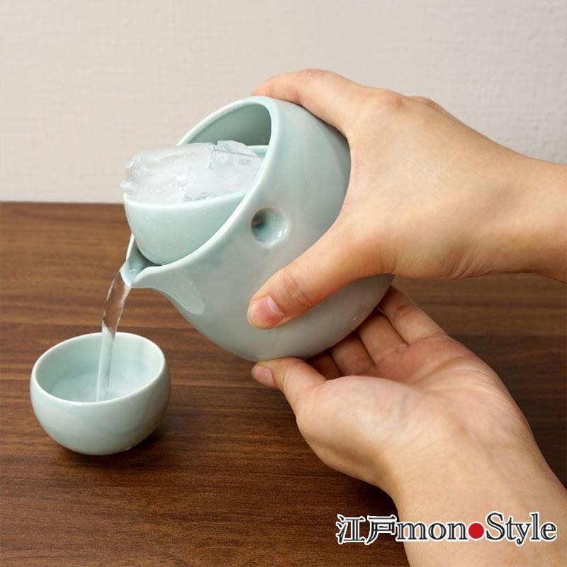 【美濃焼】デキャンタセットころん(水)