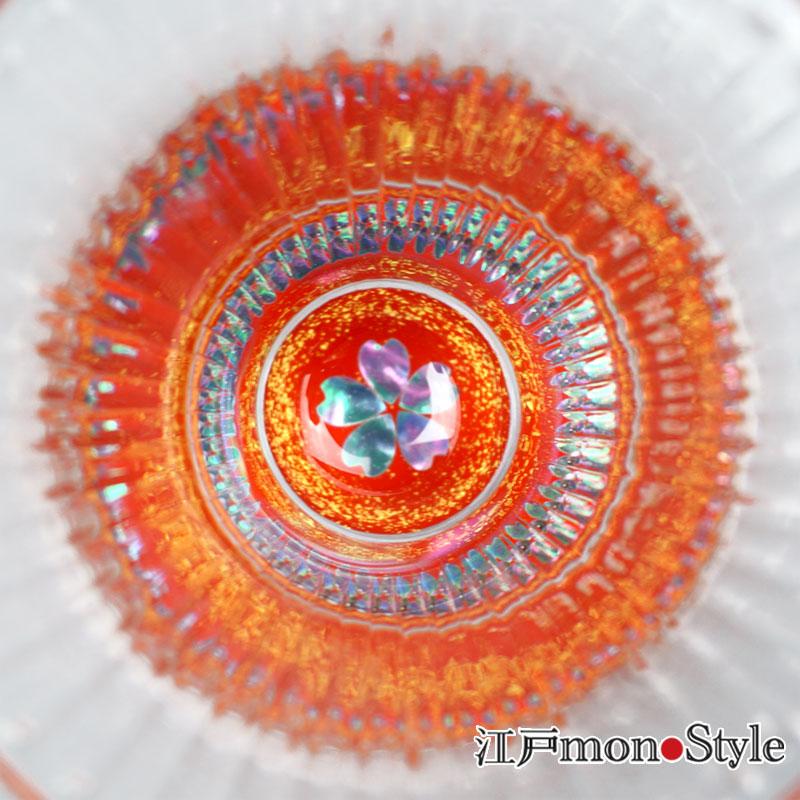 【高岡漆器】螺鈿グラス酒器セット(桜・赤)