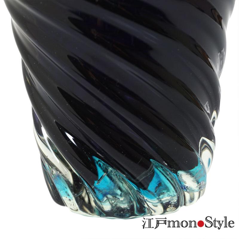 【琉球ガラス】フリーグラス(青の洞窟)【メッセージ入れ可】