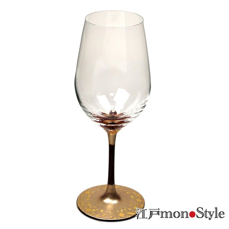 【秀衡塗】漆絵ワイングラス(桜)【名入れ・メッセージ入れ可】