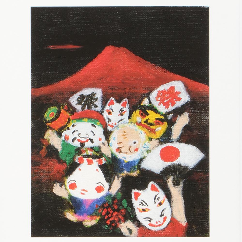 赤富士祭り