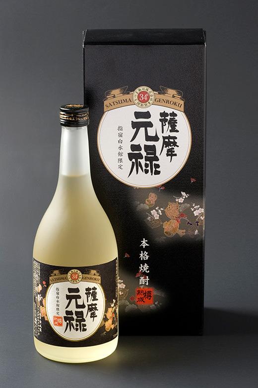 芋焼酎:薩摩元禄 720ml (34度)