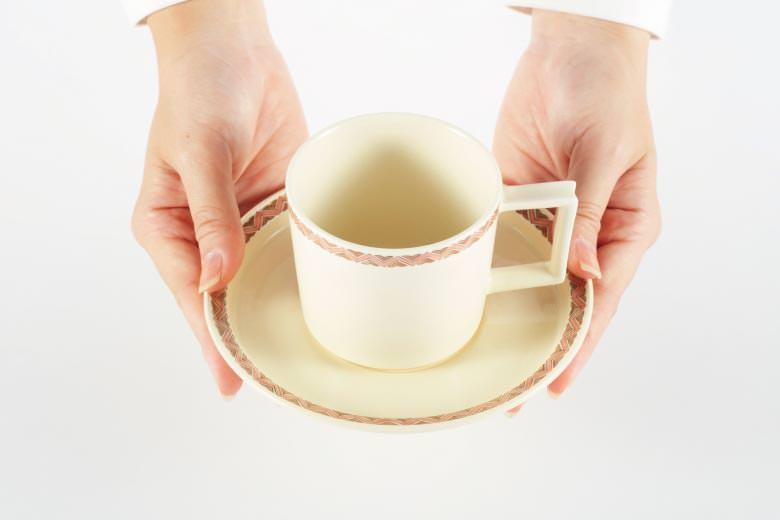 沈壽官窯 白薩摩 コーヒーカップ ※送料無料