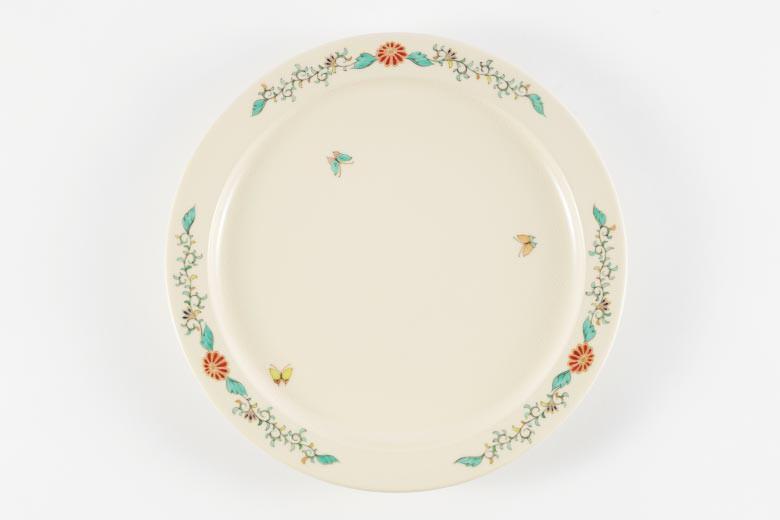 沈壽官窯 白薩摩 デザート皿   ※送料無料