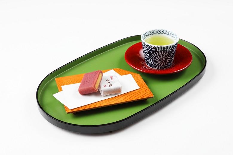 かごしま県産 特上煎茶 (友禅1本箱/100g)