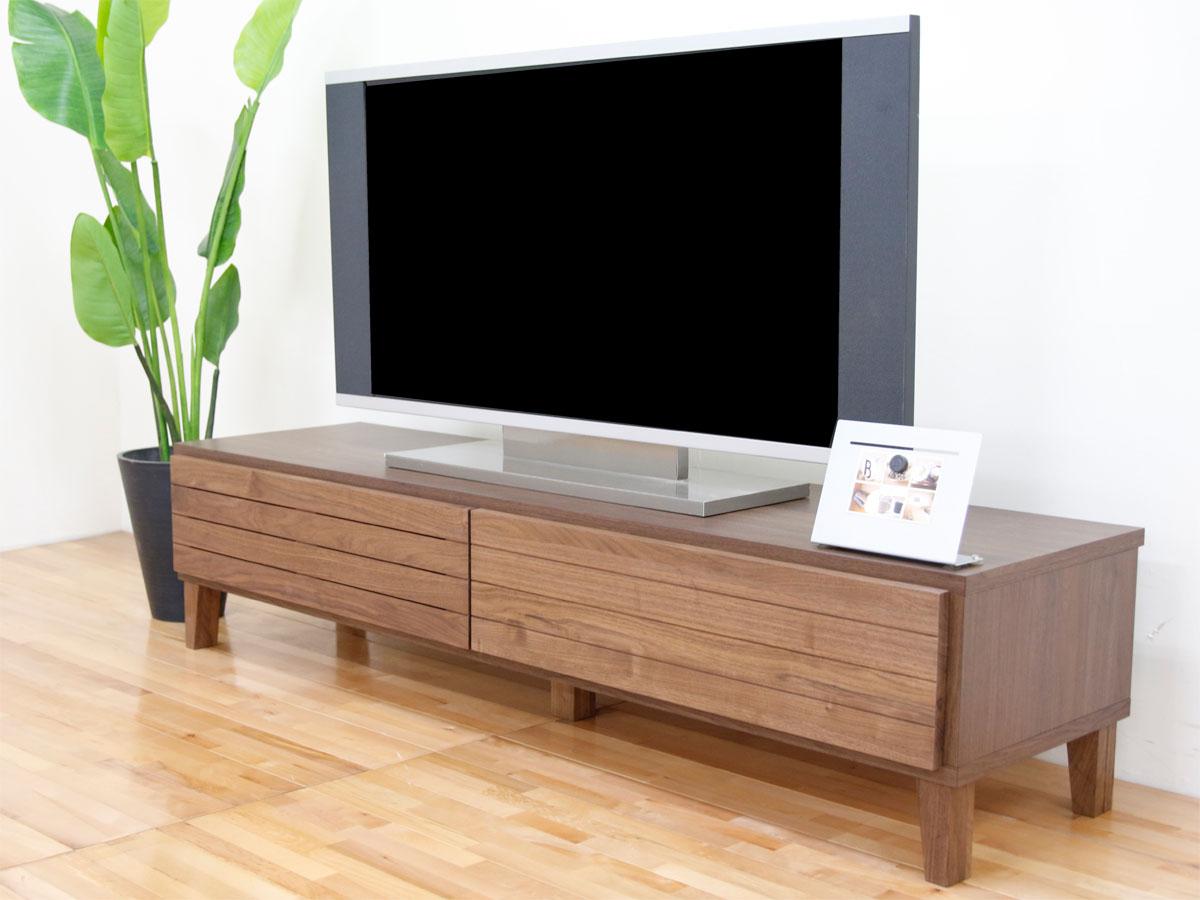 幅160テレビボード「フェント」ウォールナット