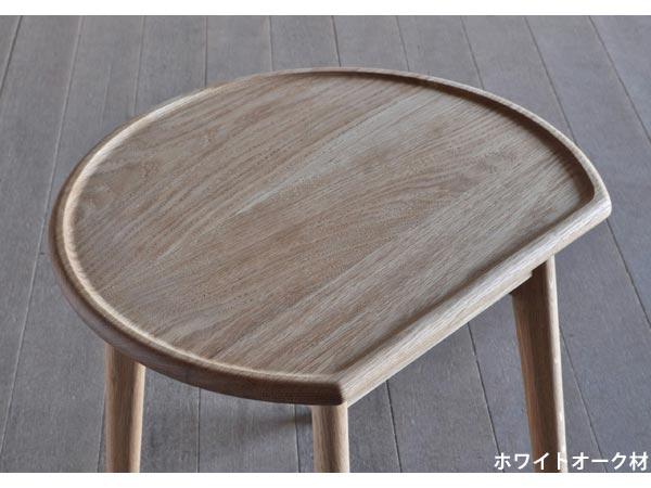 国産テーブル ユーロ サイドテーブル シキファニチア【受注生産品】