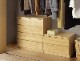 幅60-3段(奥行55cm)クローゼット収納チェスト「フィット」ホワイト・オーク・ウォールナット/3色対応