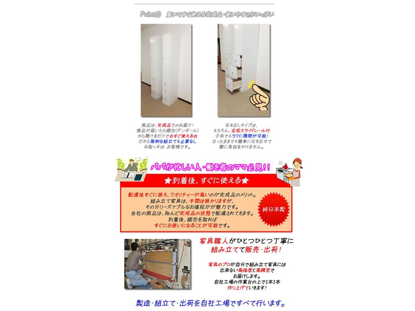 すき間収納(奥行40cm)収納棚 20cm幅から2.5cm刻み クリアクリーン扉+扉タイプ(9サイズ対応)