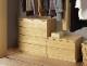 幅70-4段(奥行55cm)クローゼット収納チェスト「フィット」ホワイト・オーク・ウォールナット/3色対応