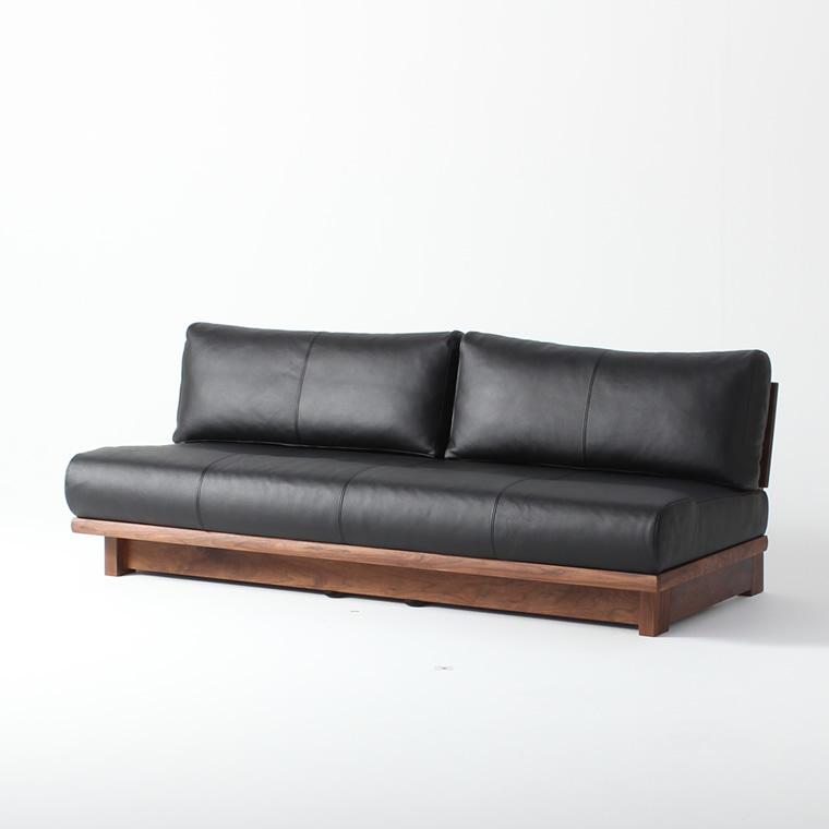 ソファ BOLD180 180cm ウォールナット 本革 WAプラス