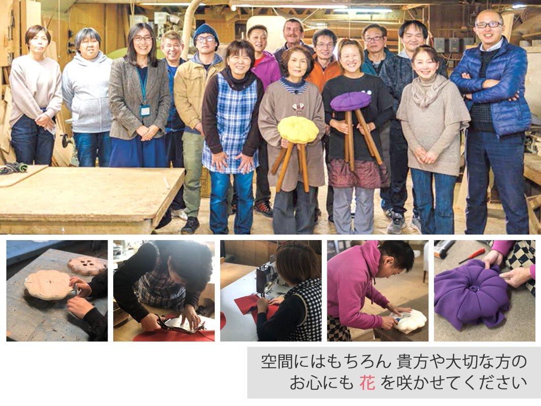 【受注生産品】monaca stool(kasuri)