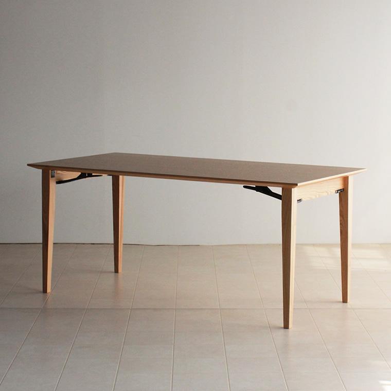 折り畳みダイニングテーブル CONE 160x80x70cm WAプラス