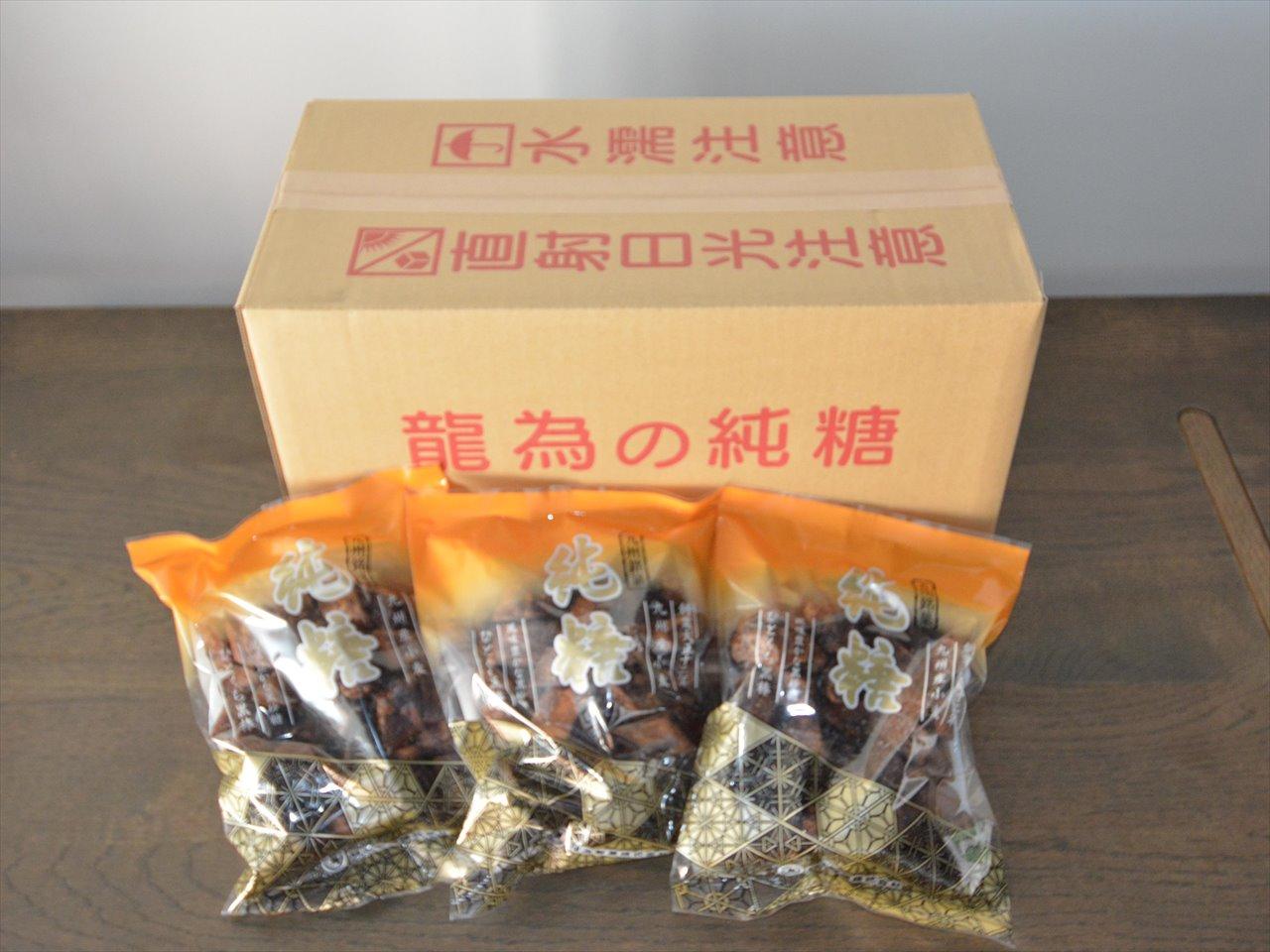 純糖(ひとくち黒棒)(龍爲製菓)