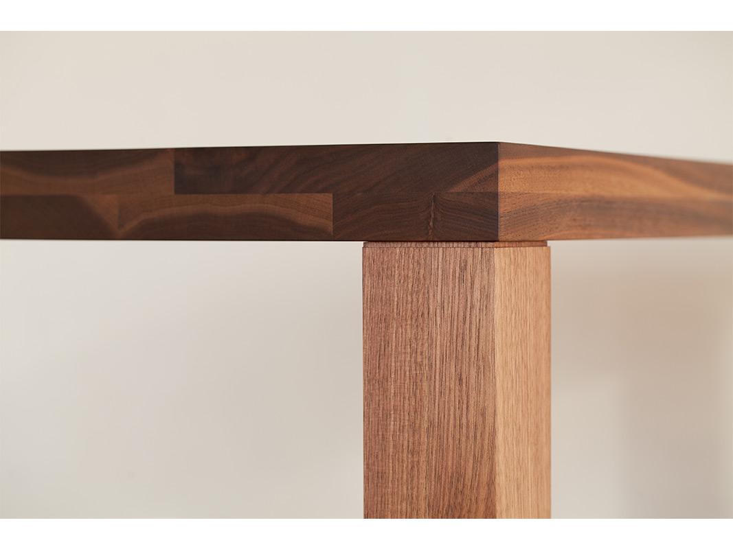 ダイニングテーブル ウォールナット オーク 無垢材 ビストロ 160