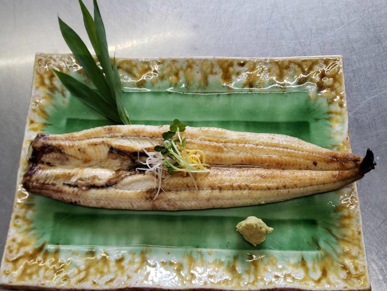筑後川 天然鰻 白焼き(旅出しうなぎ)