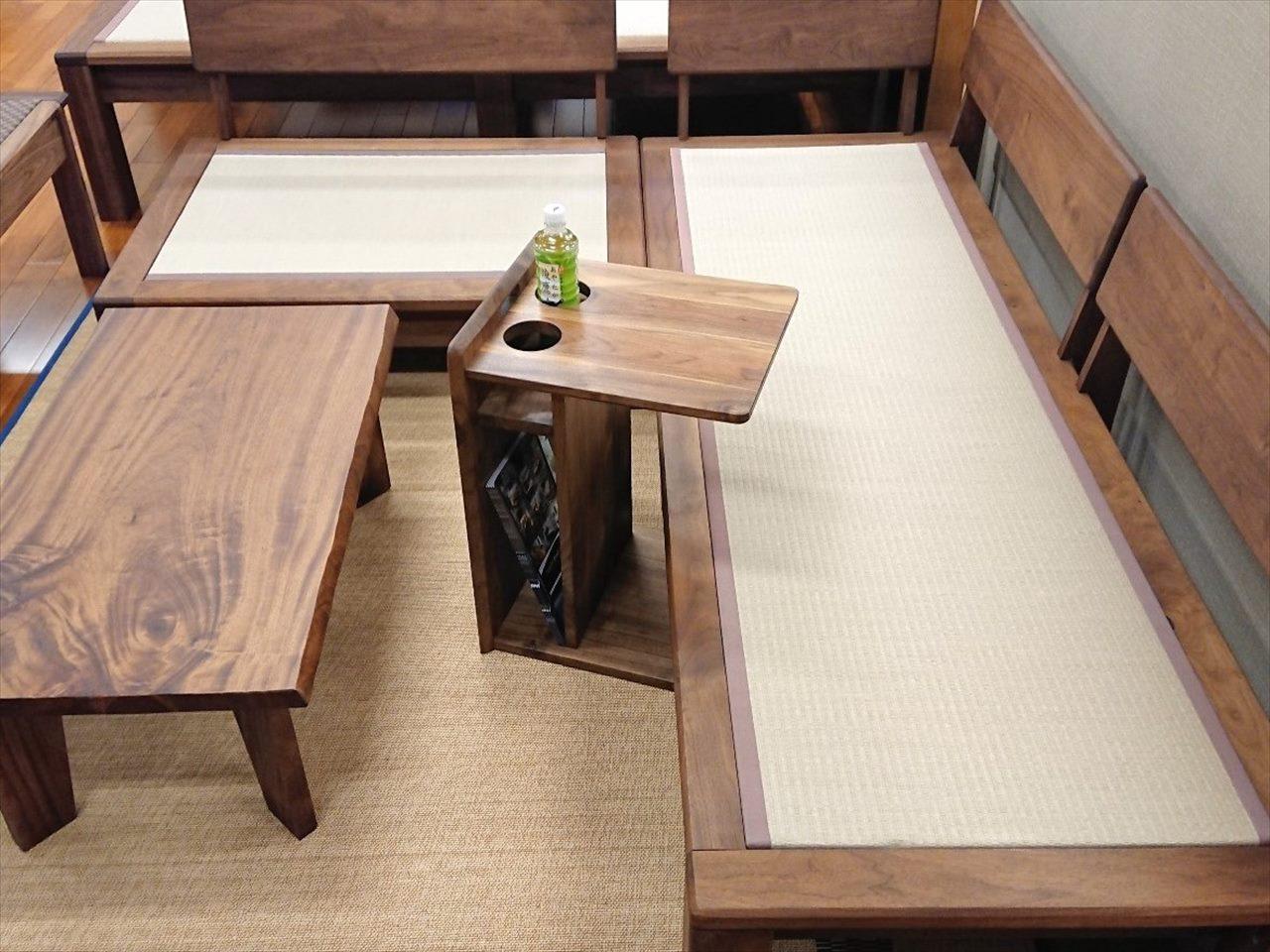 サイドテーブル 憩 ーいこい− ウォールナット