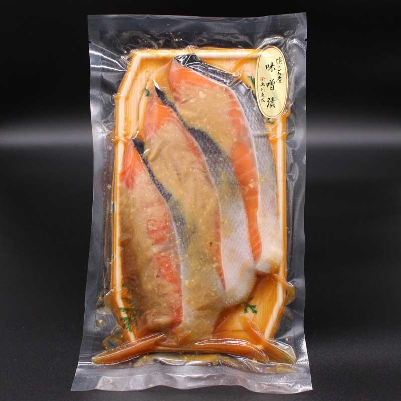 銀鮭味噌漬