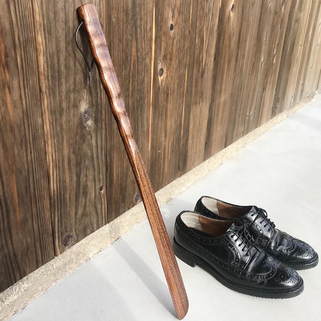 【けやき】【うるし塗り】手彫り靴べら 【公式オンラインショップ限定20%OFF】【送料込】