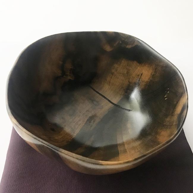 【黒柿】茶椀