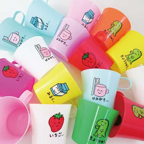 はみがきさん COLORFUL MUG CUP 4P SET