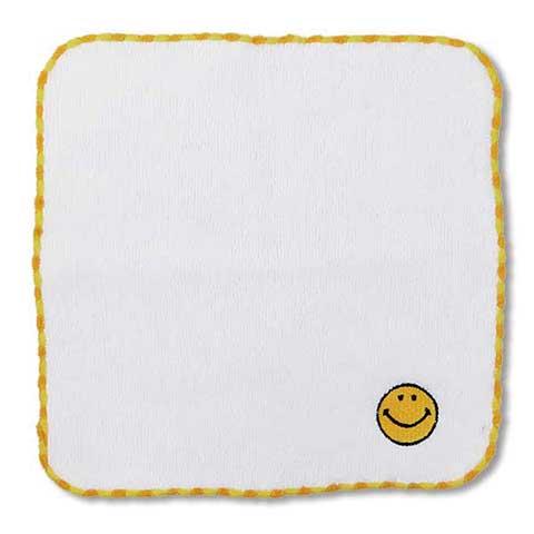 MINI TOWEL SMILE YELLOW